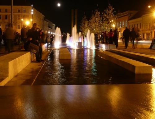 Reconditionare fantana arteziana – Piata Unirii Cluj-Napoca
